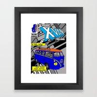 Mystique Vw Framed Art Print