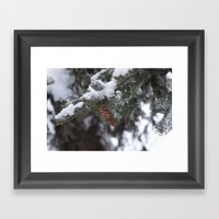 Blizzard Of 2014 Framed Art Print