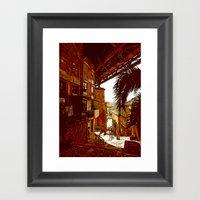 Escadas Codecal Framed Art Print