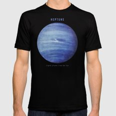 Neptune SMALL Black Mens Fitted Tee