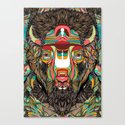 Bison (Feat. Bryan Gallardo) Canvas Print
