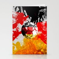 football germany Stationery Cards