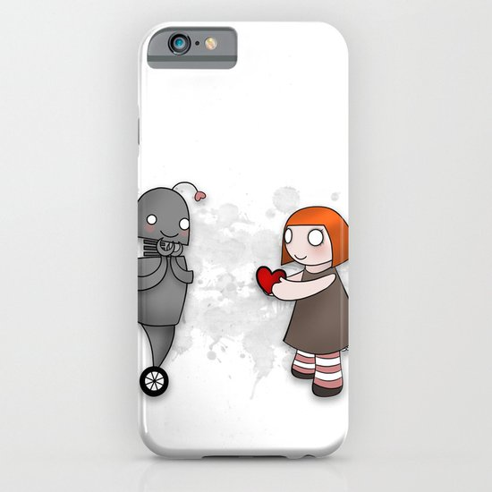 Robot Love iPhone & iPod Case