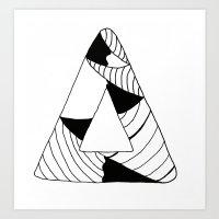 Personal Stormer Triangl… Art Print