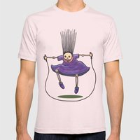 Jumprope Girl Mens Fitted Tee Light Pink SMALL