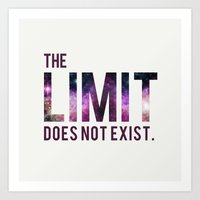 The Limit Does Not Exist… Art Print