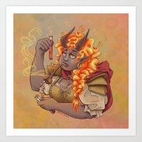 The Alchemist Art Print