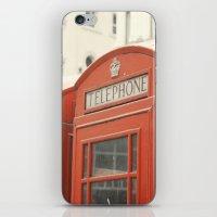Telephone - London Photography iPhone & iPod Skin