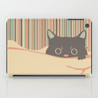 Kitty In The Blanket iPad Case