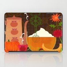 the gifts of fall iPad Case