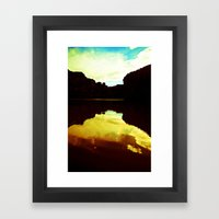 Colorado Canyons Framed Art Print