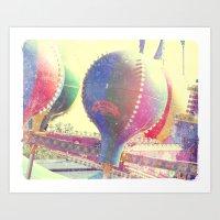 Zamperla Carnival Balloon Ride No. 1 Art Print