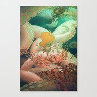 Listen To Me And I'll Tell You A Story Canvas Print
