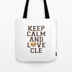 LOVE CLE BROWNS II Tote Bag