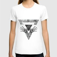 Hº Womens Fitted Tee White SMALL