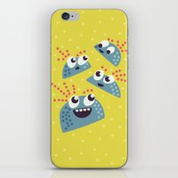 Happy Candy Friends iPhone & iPod Skin