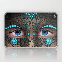 Halloween Mask - Paintin… Laptop & iPad Skin