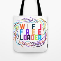 WIFI FREELOADER Tote Bag
