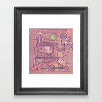 Itinerant Musician Framed Art Print