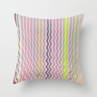 Paint Me Pretty Throw Pillow