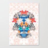 Hawaiian Skull Canvas Print