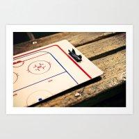 Gameplan Art Print