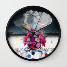Censored Serenity Wall Clock