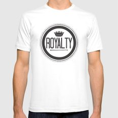 You Are #Royalty Mens Fitted Tee White SMALL
