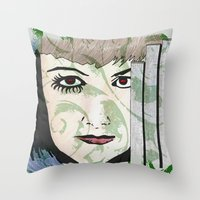 Took My Hands Off of Your Eyes Too Soon Throw Pillow