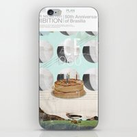50th anniversary of the city of Brazil iPhone & iPod Skin