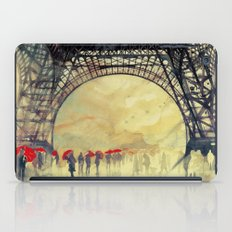 Winter In Paris iPad Case