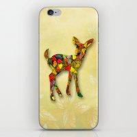 Animal Mosaic - The Fawn iPhone & iPod Skin