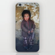 Portrait Of Serious Youn… iPhone & iPod Skin