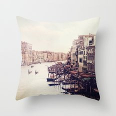 Venice revisited Throw Pillow