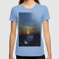Dreamland  Womens Fitted Tee Athletic Blue SMALL