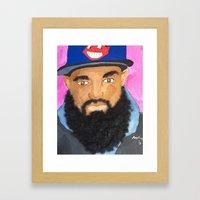 BCG King Framed Art Print
