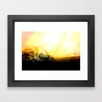DAWNS FIRST LIGHT - 053 Framed Art Print