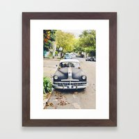 Vintage Cars Of San Fran… Framed Art Print