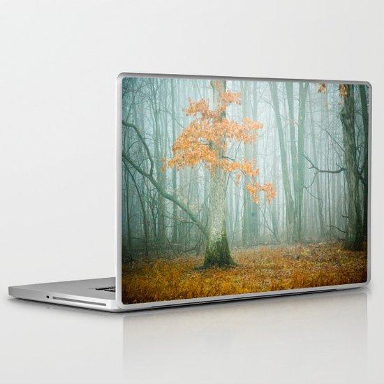Autumn Woods Laptop & iPad Skin