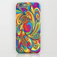 iPhone & iPod Case featuring Psychedelia by Robin Curtiss
