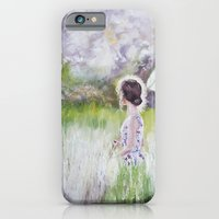 iPhone & iPod Case featuring Summer walk by Anastasia Tayurskaya