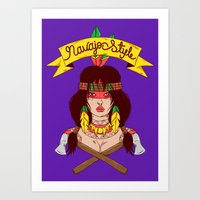 Dangerous Girls - Indian… Art Print