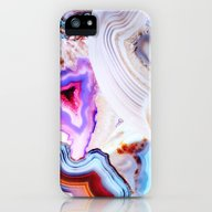 Agate, A Vivid Metamorph… iPhone (5, 5s) Slim Case