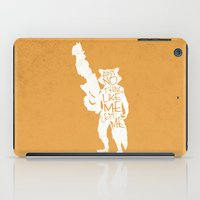 What's A Raccoon? iPad Case