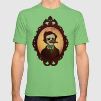 Prophets Of Fiction - Ed… Mens Fitted Tee Grass SMALL