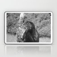 Grayscale Chicken (Ethel… Laptop & iPad Skin