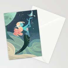 Sky Mermaid Stationery Cards