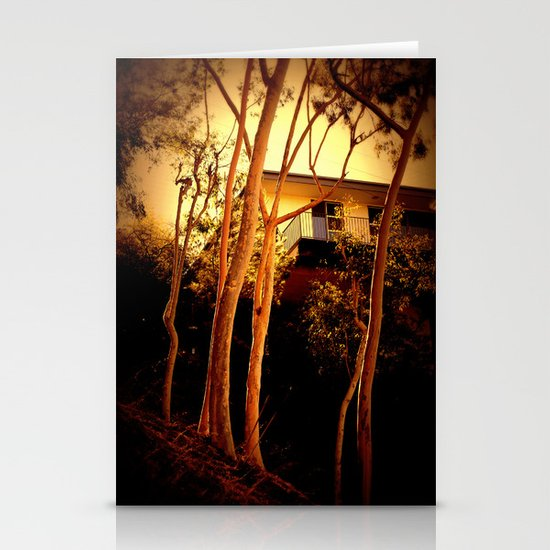 sunset mystery Stationery Card