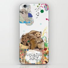 I Would Be iPhone & iPod Skin