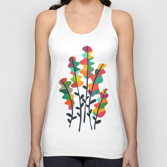 Flower from the meadow Unisex Tank Top